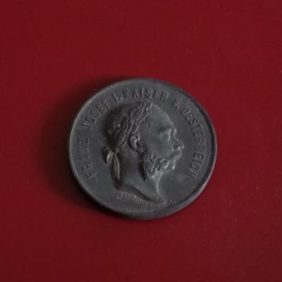 Velká medaile František Josef I. 1873 Vídeň 52mm,Rakousko-Uhersko