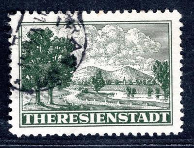 Protektorát/PR 1 A, Terezín, balíková připouštěcí známka/1916/15