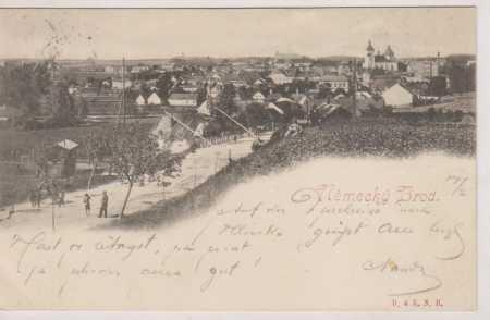 Německý Brod (Havlíčkův Brod), celkový pohled, DA