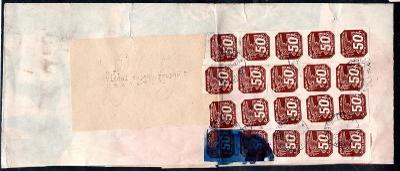 Protektorát/kompletní novinový rukáv vytvořený s tiskoviny adr/1941/15