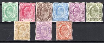 Anglické Kolonie/Bahamy ; SG 70 - 78 ; kat. cena 250 Liber /2643/13