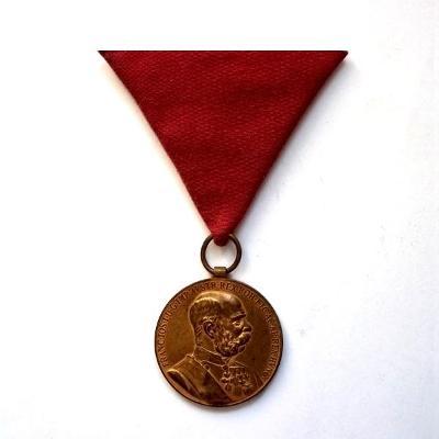 Rakousko-Uhersko 1898 vyznamenání František Josef I. Signum Memoriae