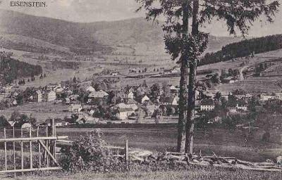 ŽELEZNÁ RUDA - CELKOVÝ POHLED - 363-SQ9