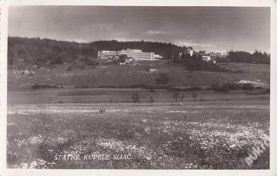 SLOVENSKO - SLIAČ - SANATORIUM - PANORAMA -11-BX20