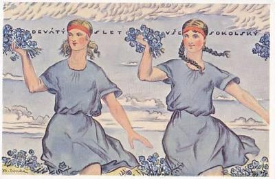 PRAHA - IX. VŠESOKOLSKÝ SLET 1932 - 4-OQ15