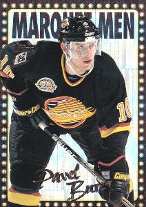 BURE Pavel Topps 1995/96 č. 20 Marquee Men POWER BOOSTERS !!!
