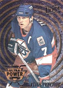TKACHUK Keith Fleer Ultra 1994/95 Ultra Power č. 10 Winnipeg