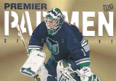 BURKE Sean Fleer Ultra 1995/96 Premier Pad Men č. 3 Hartford