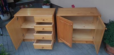 dřevěné komody