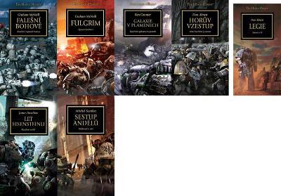 NOVÉ KNIHY Warhammer 40 000 - Horova hereze 7KNIH běžně 1869,-