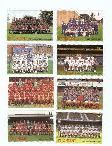 ** St.Vincent, Michel 1064-1071 anglické fotbalové týmy