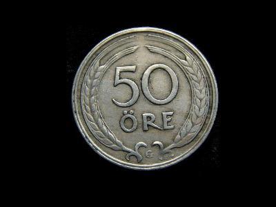 Švédsko - 50 Öre 1940