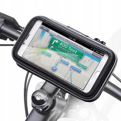 """TELEFONNÍ DRŽITEL pro kolo / motocykl, telefony OD 4 """"AŽ 6,7"""" - hol33"""