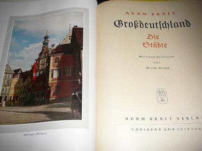 Adam Kraft Grossdeutschland. 1942256 stran, německy