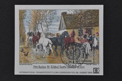 Aršík Dánsko, poštovní námět.