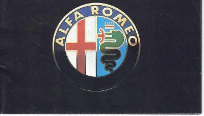 Alfa Romeo - přehled modelů