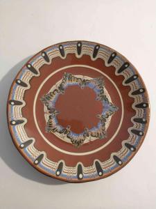 keramický talíř
