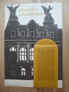 Divadlo na Vinohradech (plakát, ČSSR, 1981)