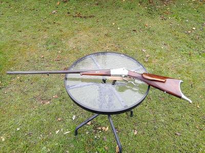Stará terčová puška Immanuel Meffert Suhl