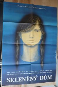 Skleněný dům (filmový plakát, film ČSSR 1981, režie