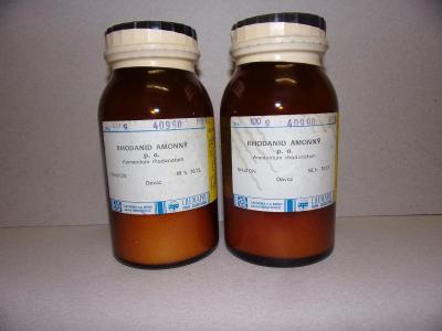Rhodanid amonný - 2 x 100 g