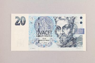 ČESKÁ REPUBLIKA // 20 Kč 1994 B 28 / neperf. /102 UNC