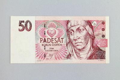 ČESKÁ REPUBLIKA // 50 Kč 1997 D 16 / neperf. /104 překrásná!