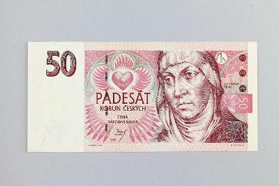 ČESKÁ REPUBLIKA // 50 Kč 1997 D 18/ neperf. /105 UNC