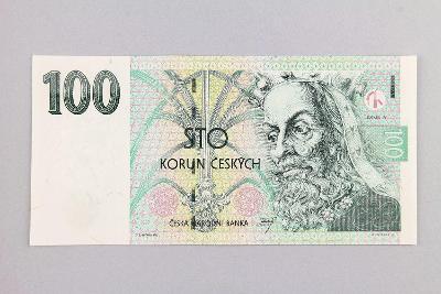 ČESKÁ REPUBLIKA // 100 Kč 1997 F 07 / neperf. /109 UNC
