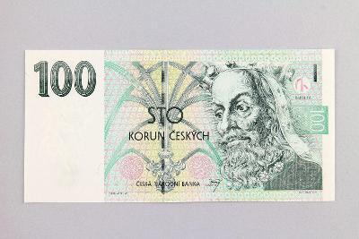 ČESKÁ REPUBLIKA // 100 Kč 1997 F 10 / neperf. /110 UNC