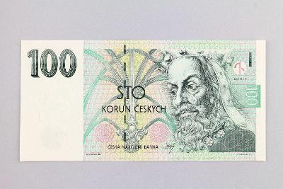 ČESKÁ REPUBLIKA // 100 Kč 1997 F 21 / neperf. /111 UNC