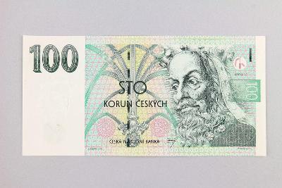 ČESKÁ REPUBLIKA // 100 Kč 1997 F 35 / neperf. /112 UNC