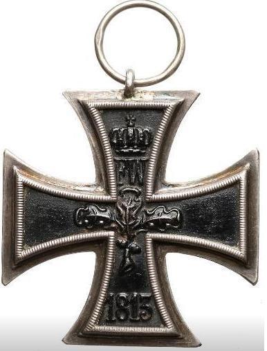 ZELEZNY KRIZ - EISERNES KREUZ - II KLASSE - 1914 - ORGINAL - NEMECKO