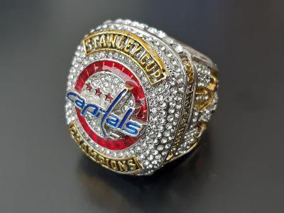 NHL prsten pro vítěze Stanley cupu Washington Capitals 2018