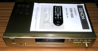 CD RECORDER DENON CDR-1000, KRÁSNÝ STAV, funkční včetně nahrávání, DO