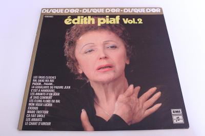 Edith Piaf - Disque D'or vol. 2 -top stav- Orig. France 1977 LP