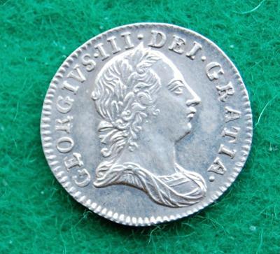 Velká Británie - 3 pence 1762