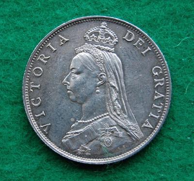 Velká Británie - 2 shillings (1 florin) 1887
