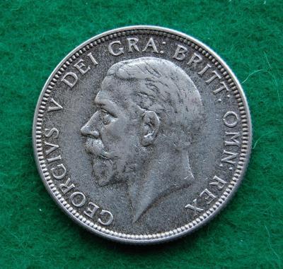 Velká Británie - 2 shillings (1 florin) 1929