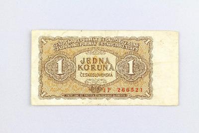 ČESKOSLOVENSKO // 1 Kčs 1953 FP / neperf. /145