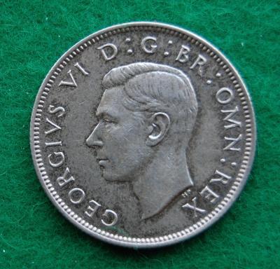 Velká Británie - 2 shillings (1 florin) 1937