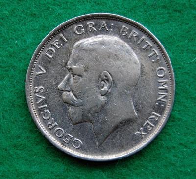 Velká Británie - 1/2 crown 1913