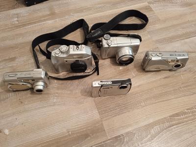 fotoaparát OLYMPUS , 5 ks.
