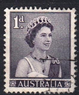 Austrálie 1959 Mi. 288 prošla poštou