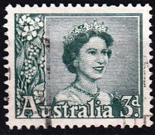 Austrálie 1959 Mi. 289 prošla poštou