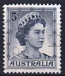 Austrálie 1959 Mi. 292 prošla poštou
