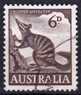 Austrálie 1959 Mi. 294 prošla poštou