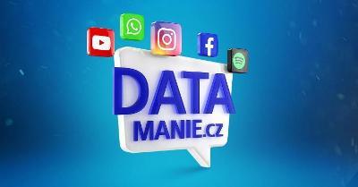 DATAMANIE - O2 SIM karta Datamánie 100GB/300Kč/měsíc/NOVÁ, NEROZBALENO