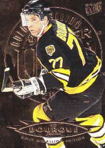 BOURQUE Ray Fleer Ultra 1995/96 č. 8 Gold Medallion