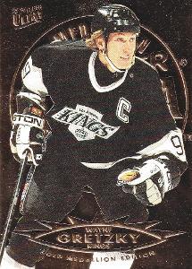 GRETZKY Wayne Fleer Ultra 1995/96 č. 74 Gold Medallion